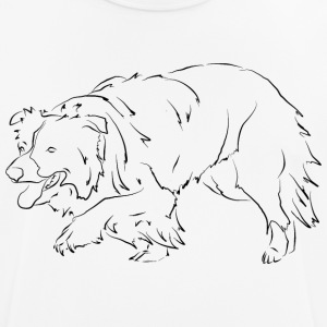 Border Collie N - Herre T-shirt svedtransporterende