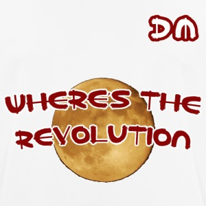 DM Where's The Revolution - Maglietta da uomo traspirante
