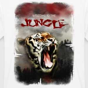 Welcome to the jungle - Maglietta da uomo traspirante