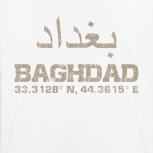 Baghdad iraq, coordinates T-Shirt arabic - Men's Breathable T-Shirt