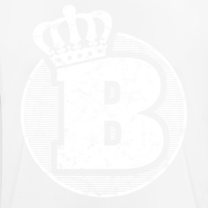 Stylish letter B with crown - Men's Breathable T-Shirt