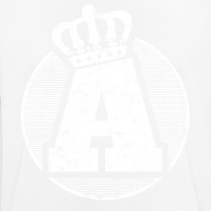 Stylish letter A with crown - Men's Breathable T-Shirt
