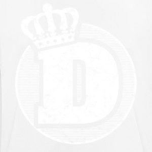 Stylish letter D with crown - Men's Breathable T-Shirt