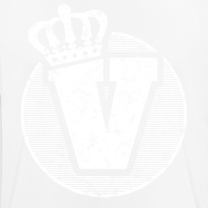 Stylish letter V with crown - Men's Breathable T-Shirt