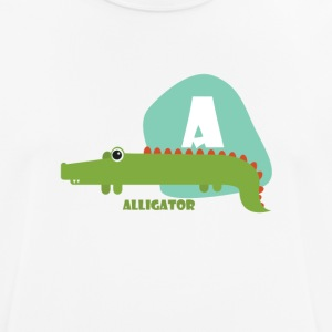 A for Alligator - Men's Breathable T-Shirt