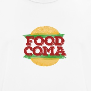 Food Coma Hamburger Fast Food - Männer T-Shirt atmungsaktiv