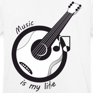 Music is my life - Men's Breathable T-Shirt