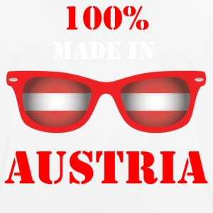 100% MADE IN AUSTRIA - Pustende T-skjorte for menn