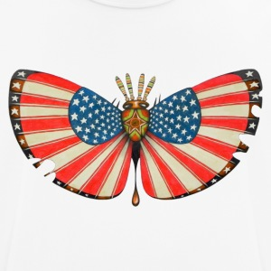Patriot moth - Men's Breathable T-Shirt