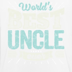 Family Gift Shirt: World's best Uncle ever - Men's Breathable T-Shirt