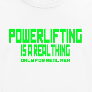 Real Thing Green - mannen T-shirt ademend
