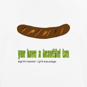 "Grillmeister ""beautiful tan"" - Men's Breathable T-Shirt"