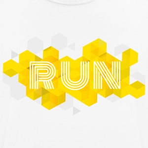 RUN - mannen T-shirt ademend