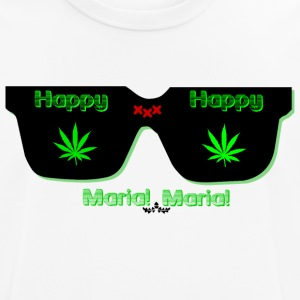 happy maria - Camiseta hombre transpirable