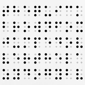 Filled and Empty Dots - Men's Breathable T-Shirt