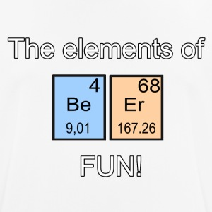The elements of Fun! - Maglietta da uomo traspirante