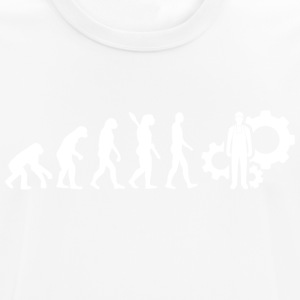 Evolution Technician Technology White - Men's Breathable T-Shirt