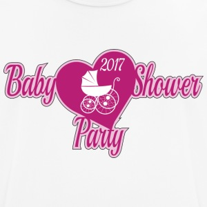 Baby Shower Rose - Men's Breathable T-Shirt