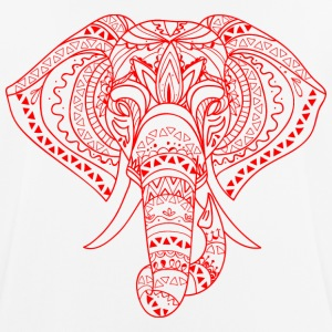 ELEPHANT HEAD red - Men's Breathable T-Shirt