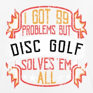 99 Problems Disc Golf - Men's Breathable T-Shirt