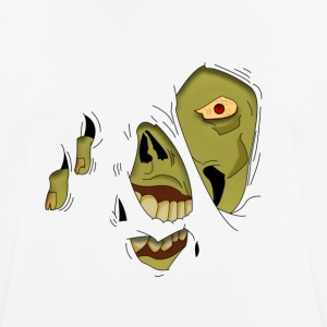 Zombie Pop-Up - Men's Breathable T-Shirt
