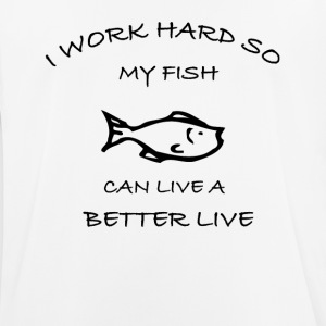 Fish - Men's Breathable T-Shirt