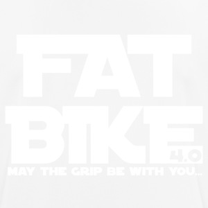 FATBIKE - MAY THE GRIP BE WITH YOU 1 - Men's Breathable T-Shirt