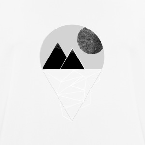 Moon in the mountains - Men's Breathable T-Shirt