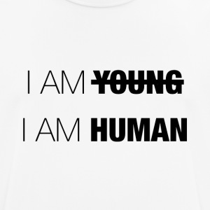 SOY YOUNG - SOY HUMANO - Camiseta hombre transpirable