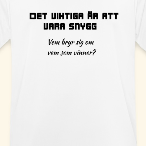 Snygg - Andningsaktiv T-shirt herr