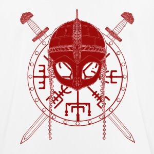 Viking Design (Red) - Men's Breathable T-Shirt