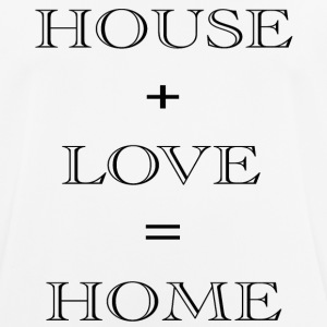 HOUSE + LOVE - mannen T-shirt ademend