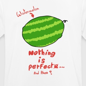 Vandmelon - Intet er perfekt - Herre T-shirt svedtransporterende