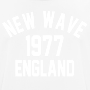 New Wave 1977 England - Pustende T-skjorte for menn