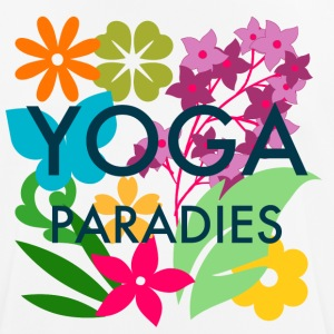 Yoga Paradise Shirt - Colorful Yoga Tee Shirt - Men's Breathable T-Shirt