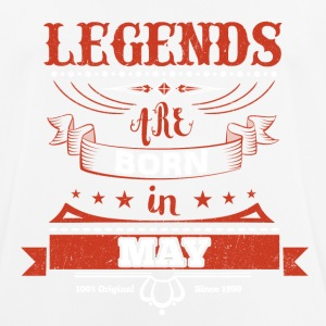 Legends are born in May birthday gift - Men's Breathable T-Shirt
