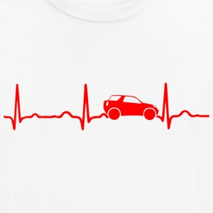 ECG HEART OF SUV RAILWAY CARS red - Men's Breathable T-Shirt