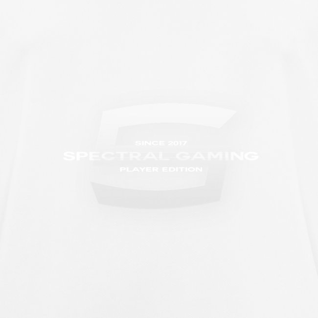 Player Edition T-Shirt (White Logo)