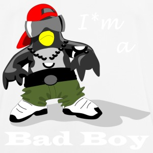 Bad Boy Penguin - Men's Breathable T-Shirt