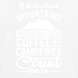 Mountains and camping - Men's Breathable T-Shirt