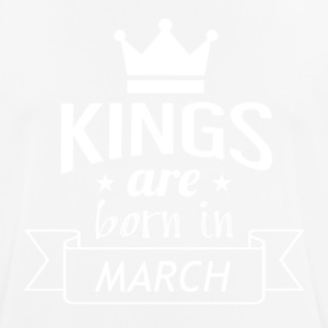 KINGS were born in MARCH - Men's Breathable T-Shirt