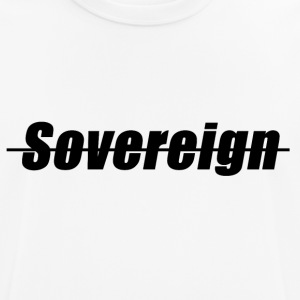 Sovereign Dash Black - mannen T-shirt ademend