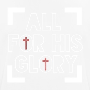 All for His Glory - Believe - Männer T-Shirt atmungsaktiv