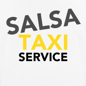 Salsa Taxi Service - on DanceShirts - Men's Breathable T-Shirt