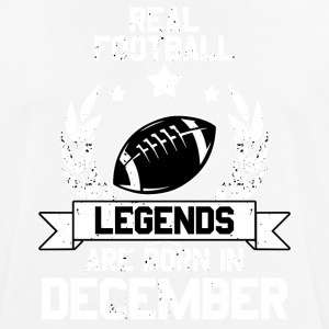 Football Legends! Verjaardag! december - mannen T-shirt ademend