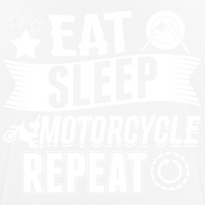 Motorcycle EAT SLEEP Motorcycle Bike - Men's Breathable T-Shirt