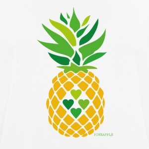 Love Ananas - Pustende T-skjorte for menn