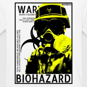 Biohazard bsl4 gas Yellow - Men's Breathable T-Shirt