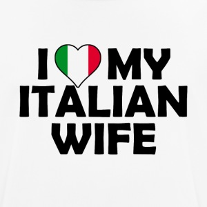 J'aime ma femme italienne - T-shirt respirant Homme