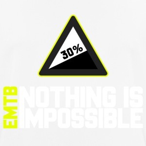 EMTB Nothing is Impossible - 30% - Männer T-Shirt atmungsaktiv